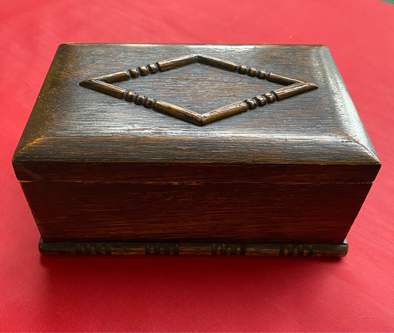 Victorian Box - Possibly A Cigar Or Cigarette Box