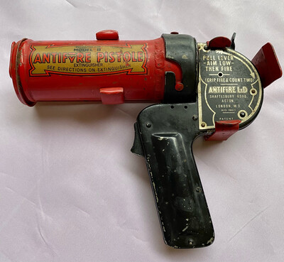 Antifyre Pistole Fire Extinguisher Model B - Circa 1930