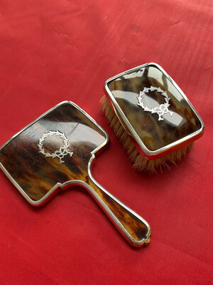 EPNS Brush And Mirror Set - Vintage