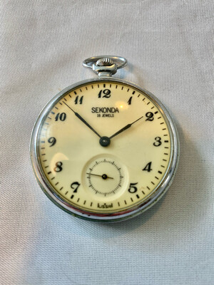Rare Vintage Russian (USSR) Sekonda Pocket watch - not working