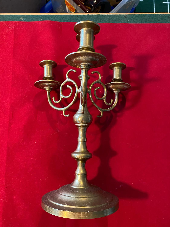 Brass Candlestick - modern manufacture circa 1980's