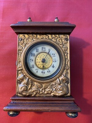 Late Victorian - The British United Clock Co - Mantle Clock
