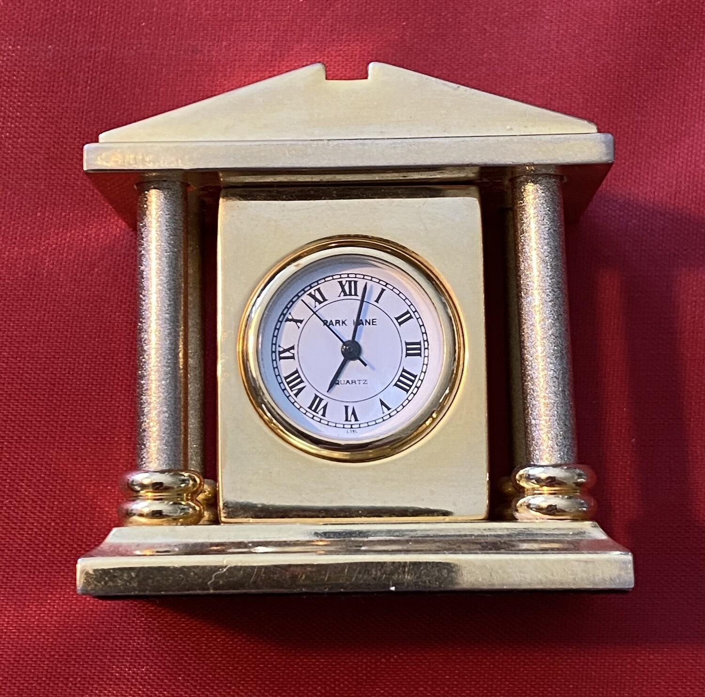 Miniature Mantle Clock - Quartz, mid 70's