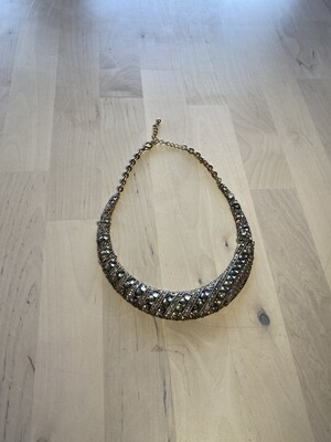 Crescent Moon Costume Necklace