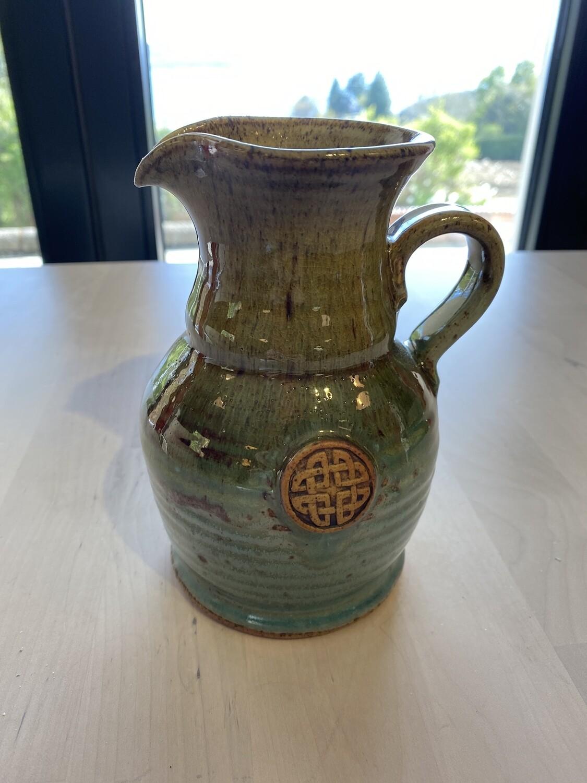 Scottish Celtic Design Pottery Jug
