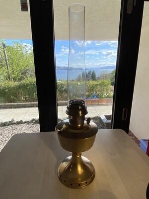 Original Aladdin Parafin Lamp Complete with Original Glass