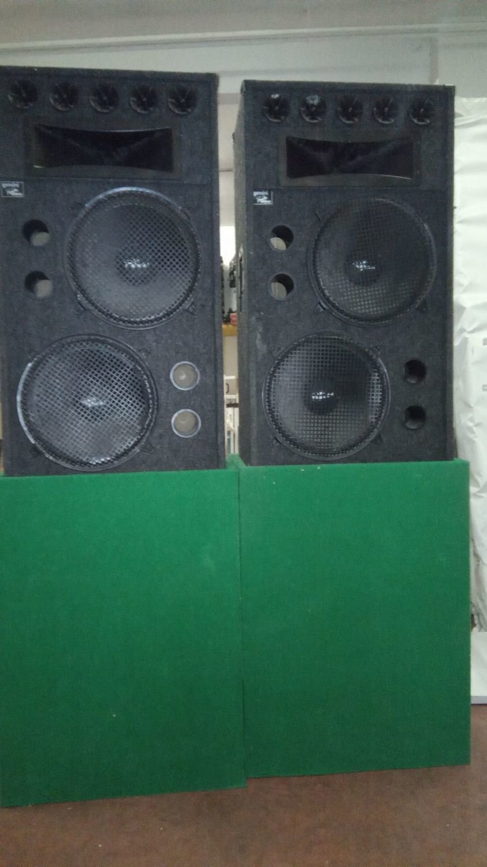 Coppia Diffusori Gemini DJ Speaker by Rhino