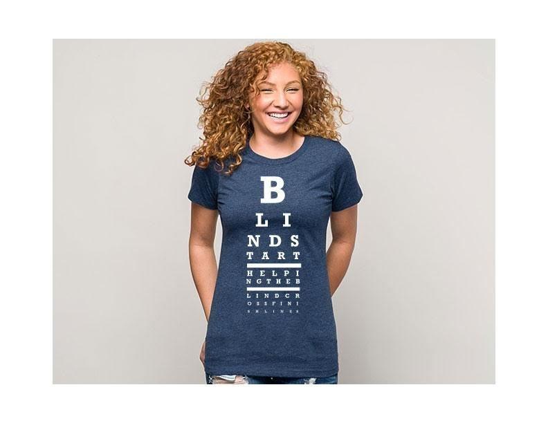 Blue Eye Chart T-Shirt
