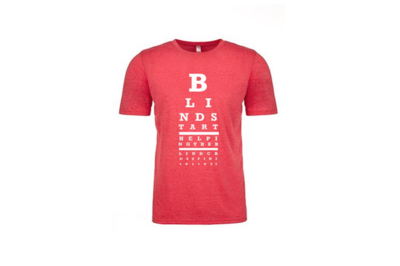 Red Eye Chart T-Shirt