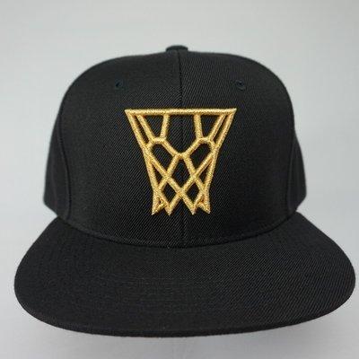 Black Gold Net Snapback