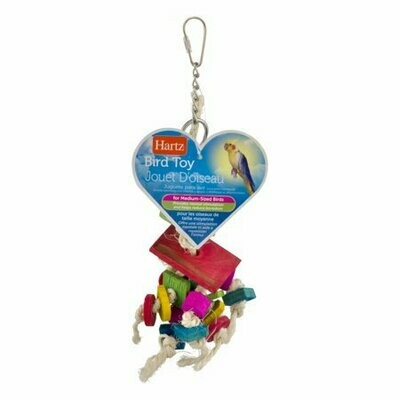 (3 Pack) Hartz Feather Frenzy Bird Toy