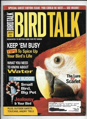 BirdTalk Magazine January 2003