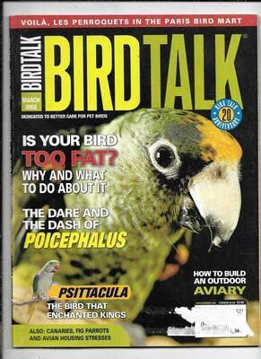 BirdTalk Magazine march 2002