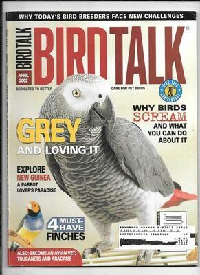 BirdTalk Magazine April 2002