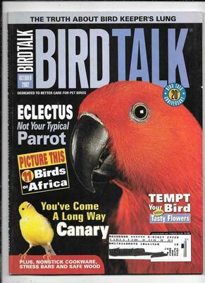 BirdTalk Magazine October 2002
