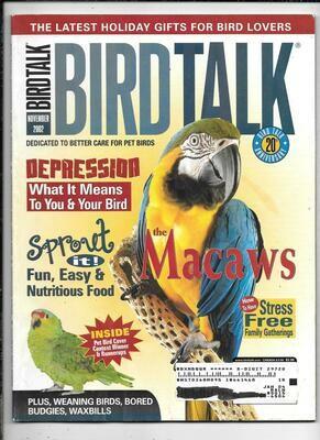 BirdTalk Magazine November 2002