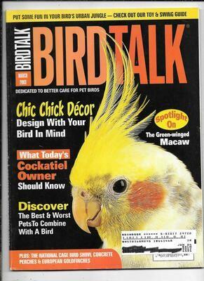 BirdTalk Magazine March 2003