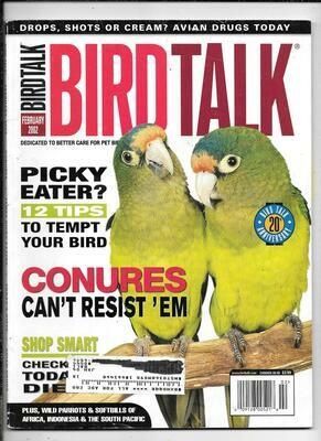 BirdTalk Magazine February 2002