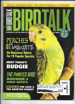 BirdTalk Magazine july 2002