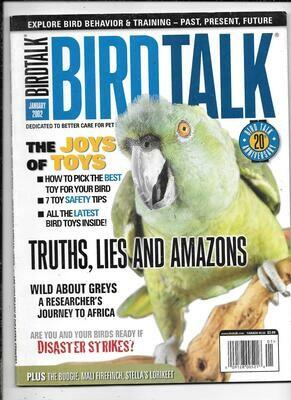 BirdTalk Magazine January 2002