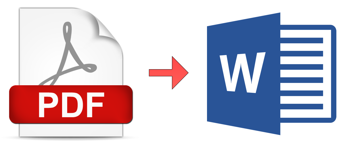 Transform Exported PDF to MS Word