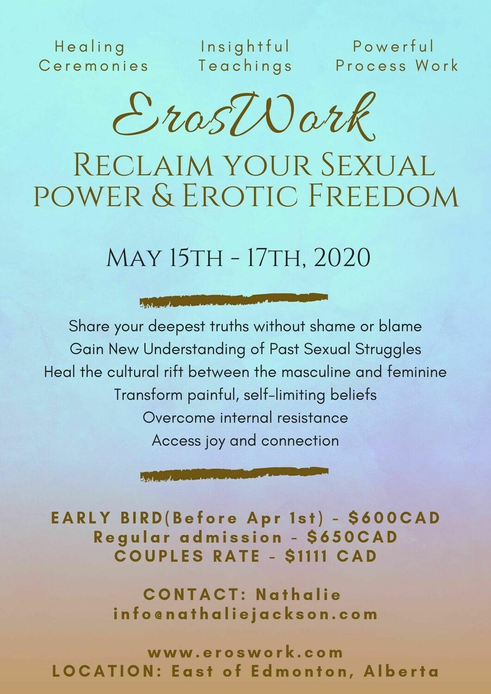 Eros Work Weekend - May 15-17 Edmonton Alberta