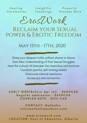 Eros Work Weekend - May 15-17 Edmonton Alberta