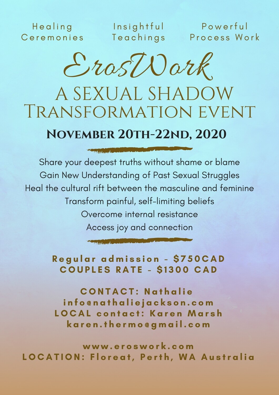 Eros Work Weekend - Nov 20-22nd Perth Australia