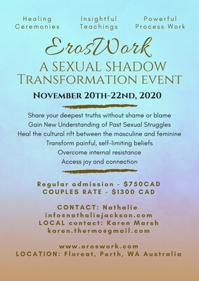 Eros Work Weekend - Nov 20-22nd Perth Australia