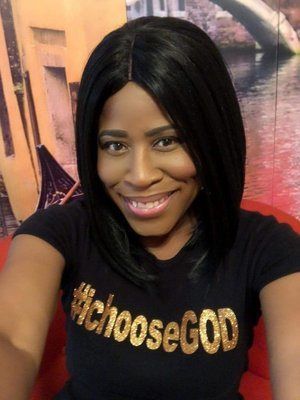 #ichooseGOD Metallic Shirt