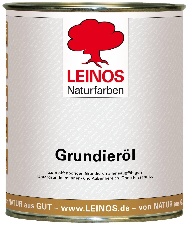 Leinos Grundieröl für Innen und Aussen 0,75 l
