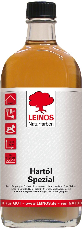 Leinos Hartöl spezial 245  für innen, farblos 0,25 l