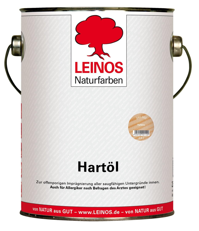Leinos Hartöl 240 für innen, farblos 2,5 l