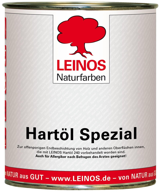 Leinos Hartöl spezial 245  für innen, farblos 0,75 l