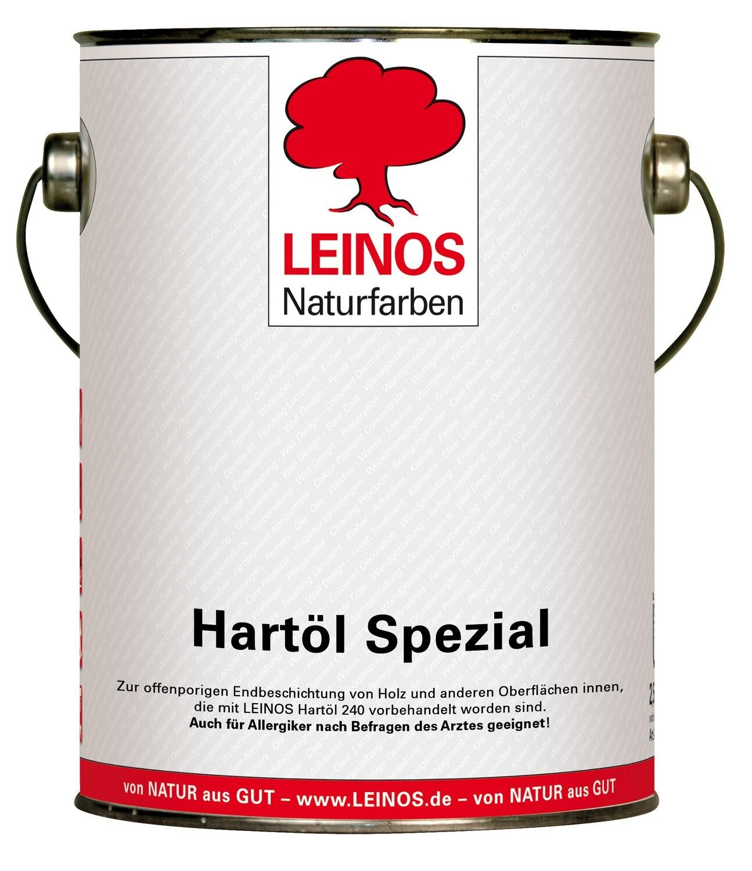 Leinos Hartöl spezial 245  für innen, farblos 2,5 l