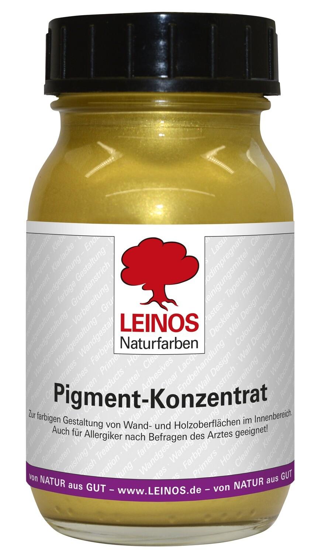 Leinos Pigment-Konzentrat, 668.345 Gold-Satin