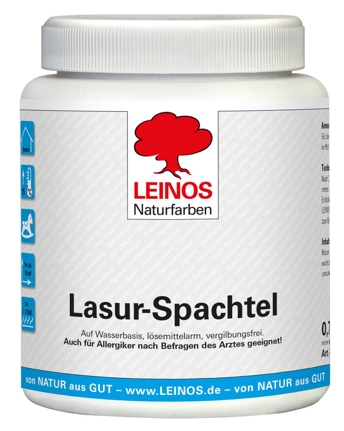Leinos Lasur-Spachtel 630 0,75 l