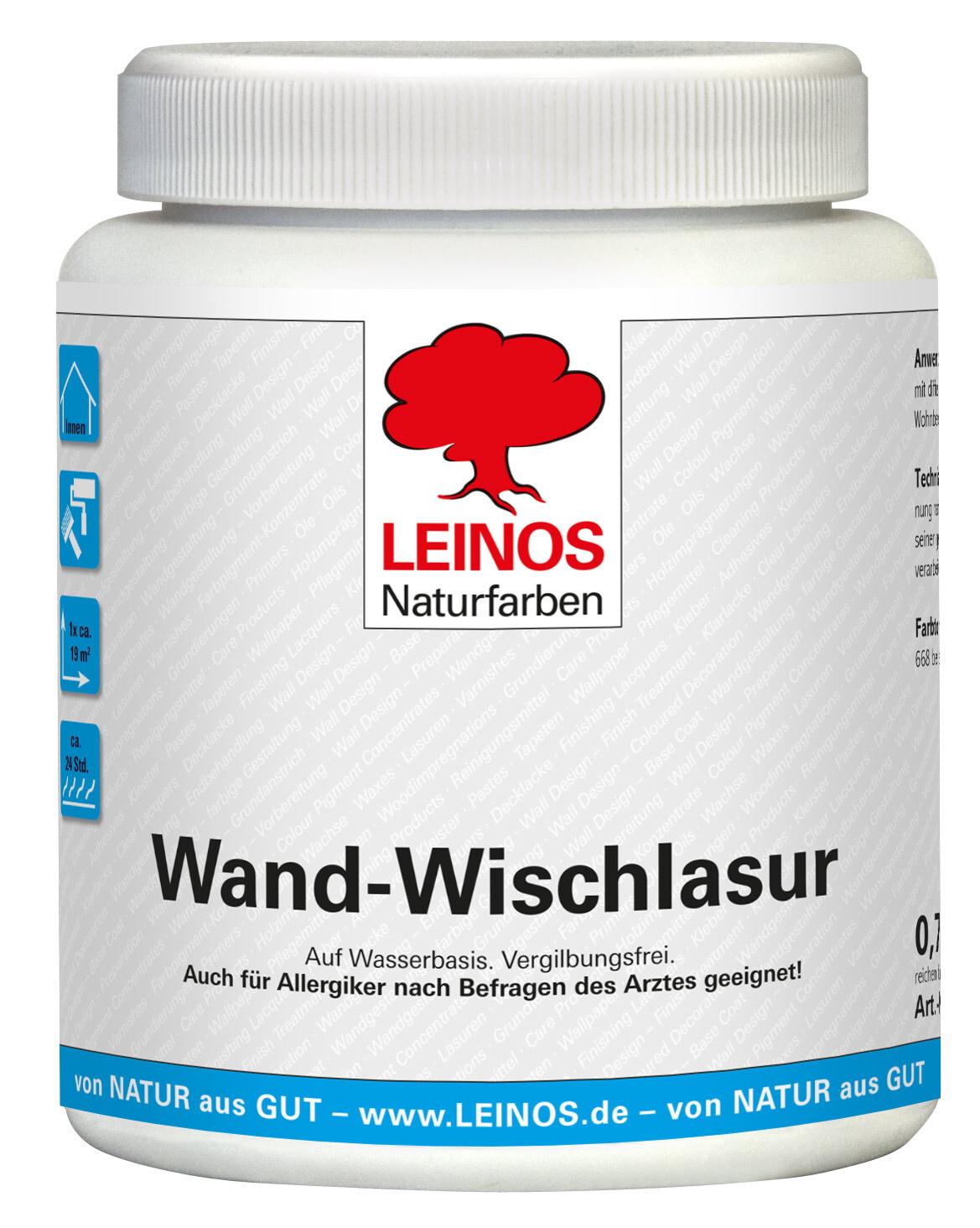 Leinos Wand-Wischlasur 601 0,75 l
