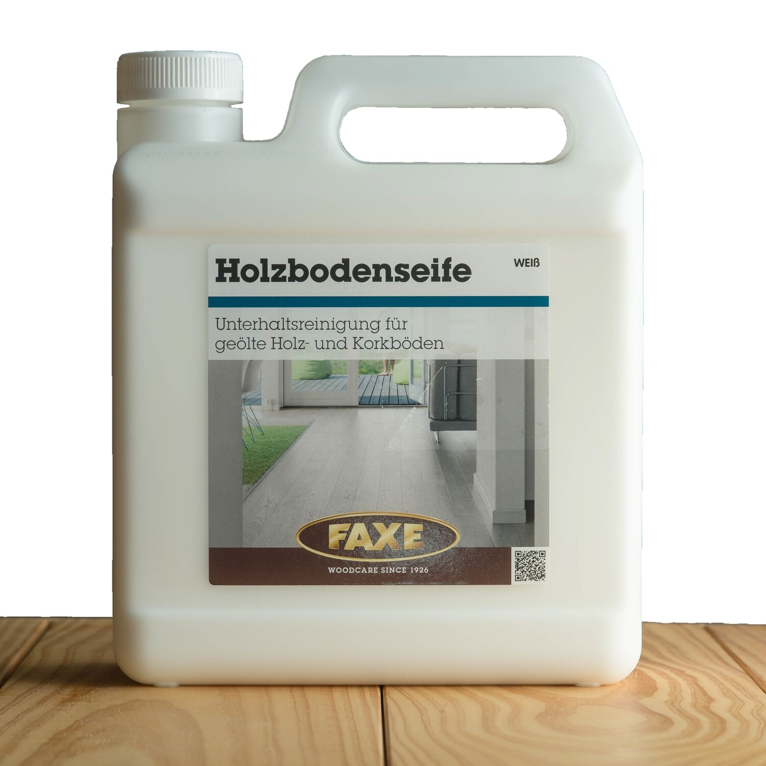 Faxe Holzbodenseife weiß 1,0 l