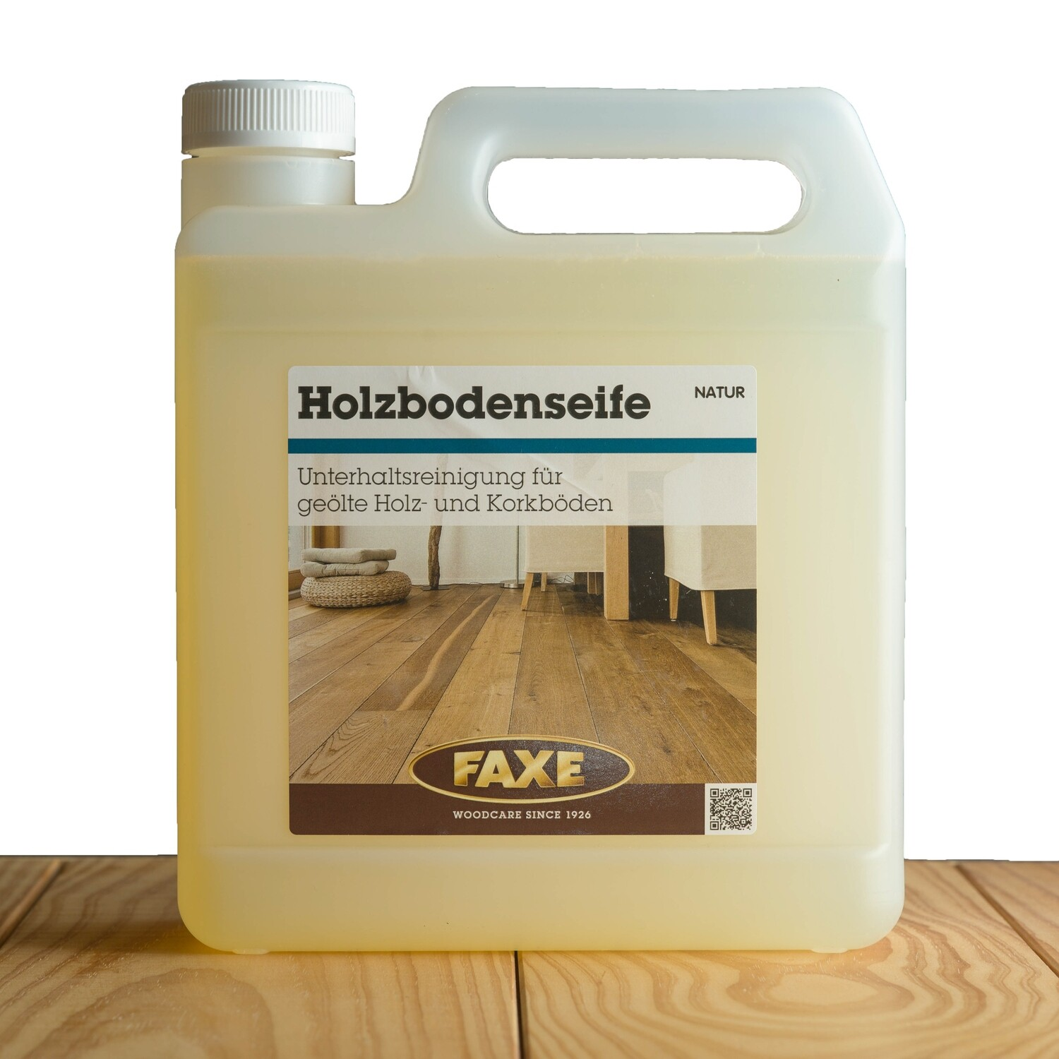 Faxe Holzbodenseife natur 2,5 l