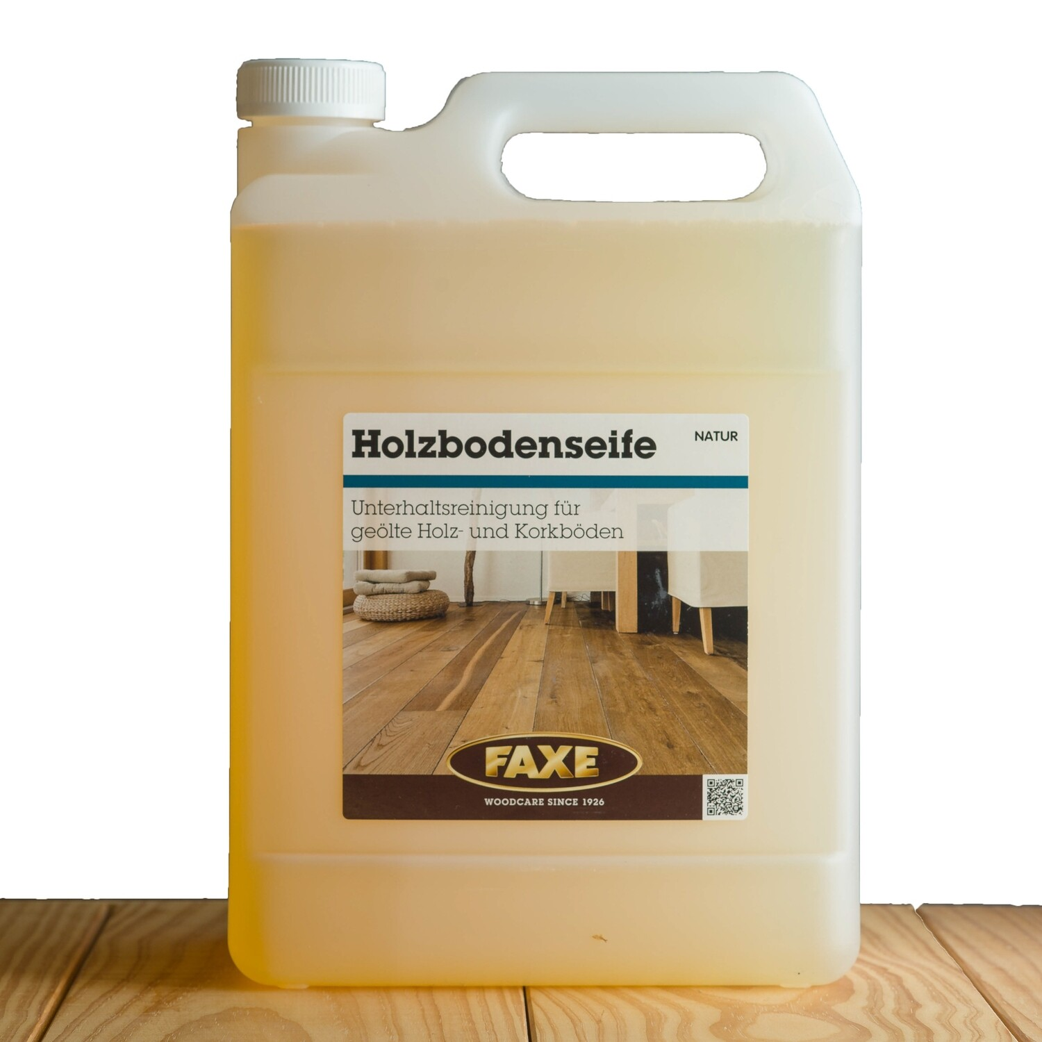 Faxe Holzbodenseife natur 5,0 l