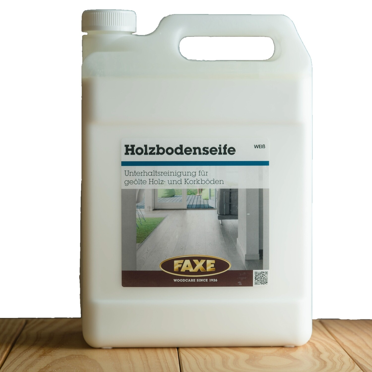Faxe Holzbodenseife weiß 5,0 l