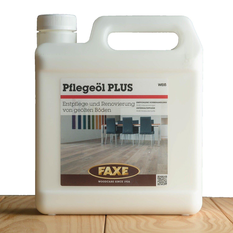Faxe Pflegeöl Plus weiß 2,5 l