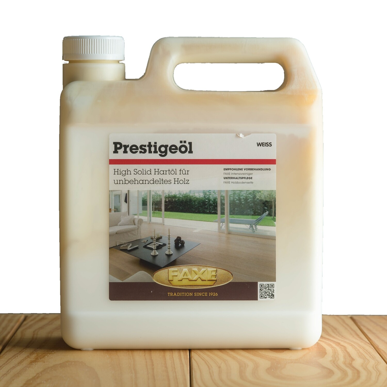 Faxe Prestige Öl weiß 2,5 l