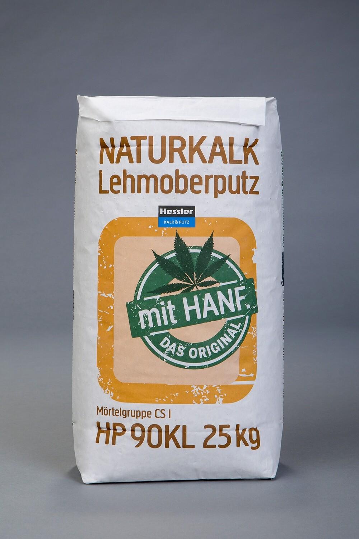 Hessler HP 90 KL Naturkalk-Lehm Oberputz mit Hanf 25 kg