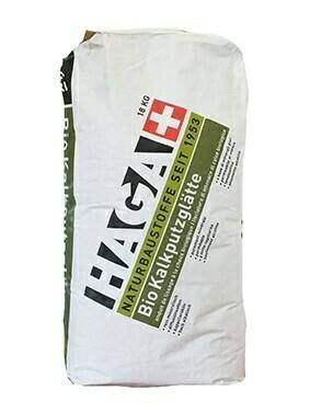 HAGA 345 Bio Kalkputzglätte Die natürliche Grundbeschichtung aus Kalksteinmehl