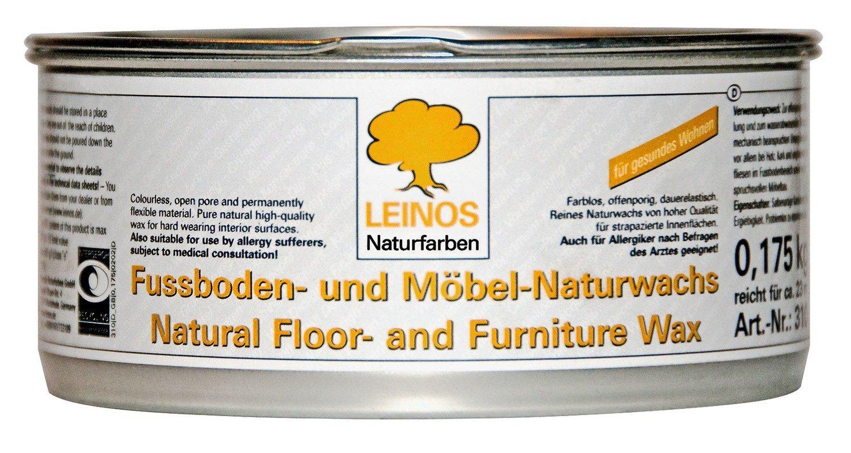 Leinos Fußboden- und Möbelwachs 350 g