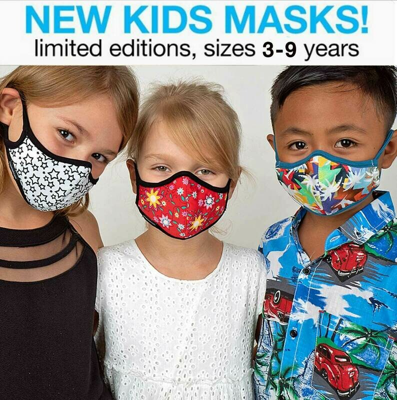 Children Face Mask Non-Replaceable Filter