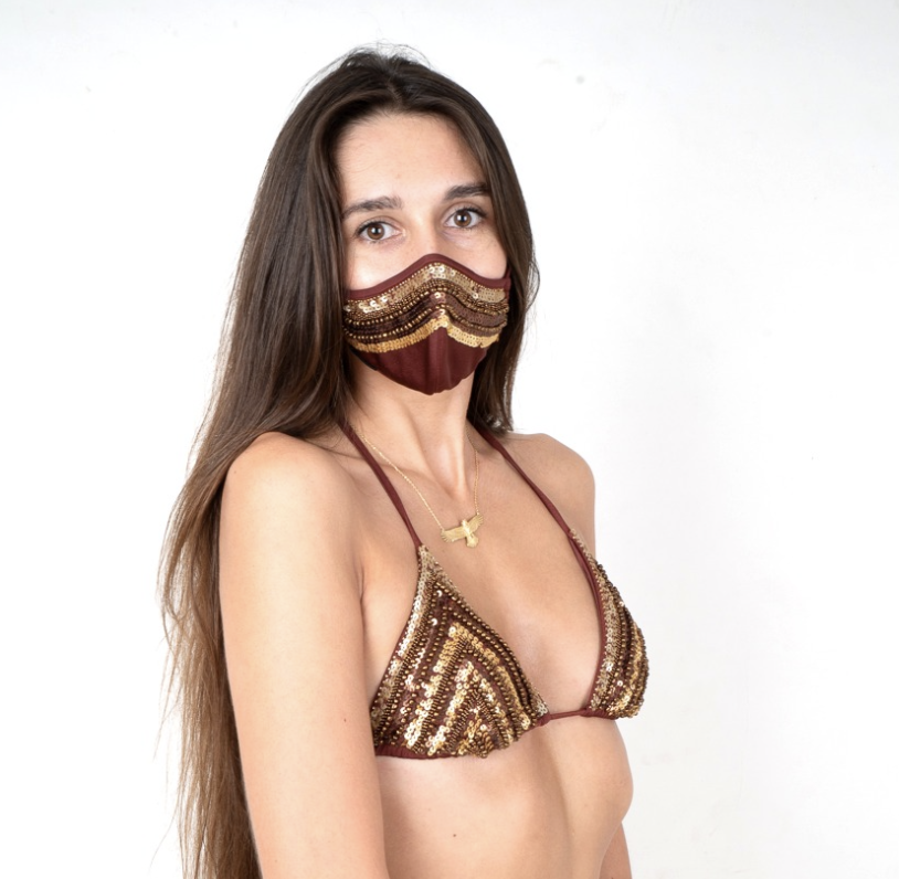Africa face mask and Bra Non-Replaceable Filter