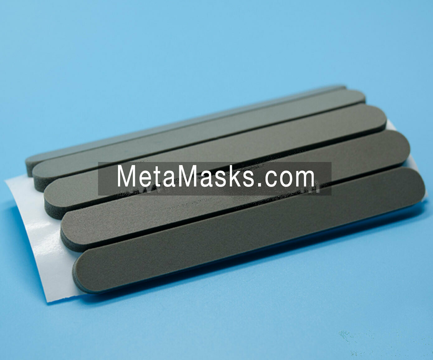 Nose pads for face mask, reduce air leakage & add comfort.